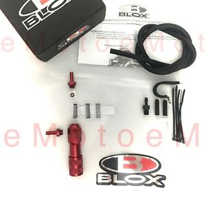 Blox Racing Manual Boost Controller Nismo Mazda Scion Evo Wrx Sti Vtec Red