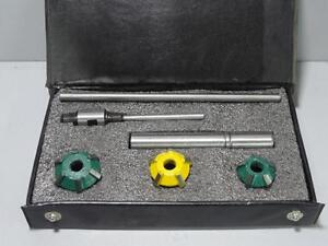 Carbide Tipped Valve Seat Cutter Kit 6 Pcs For Vintage Cars And Bikes