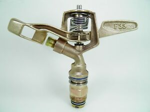End Of Summer Sale 3 Old Skl All Brass Nelson F33 3 4 Brass Impact Sprinklers