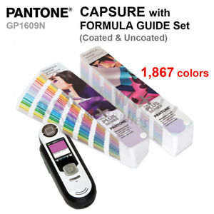 Pantone Gp1609n Capsure Color Matcher Measurement Tools With Gp1601n Guide Set