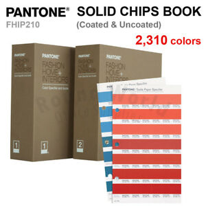 Pantone Fhip210 Fashion Home Color Specifier Chips Book 2 310 Colors