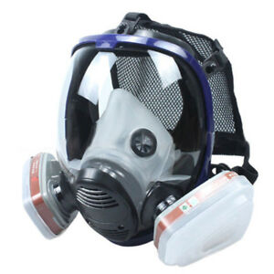 Similar As 3m 6800 Gas Mask Full Face Facepiece Respirator For Painting Spraying