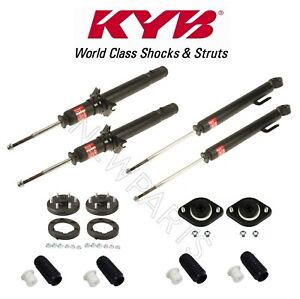 Rear Shocks And Front Struts Mounts Bellows Kit Kyb For Acura Rl 2005 2012