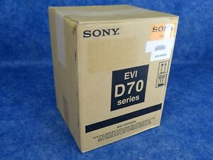 Sony Evi d70 1 4 inch Ccd Pan tilt Zoom Color Ntsc Video Camera Factory B stock