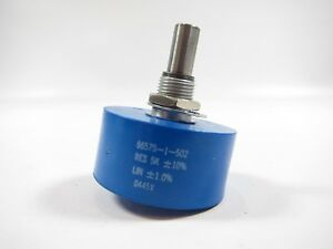 New Bourns 6657s 1 502 Rotary Potentiometer 5k Ohm