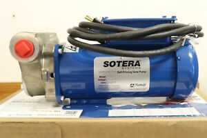 Tuthill Sotera 115v Ac Stainless Steel Chemical Fuel Transfer Vane Pump 20 Gpm
