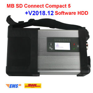 Mb Sd C5 Diagnostic Tool Via V2018 9 Mb Star Sd C4 Software With Multi language
