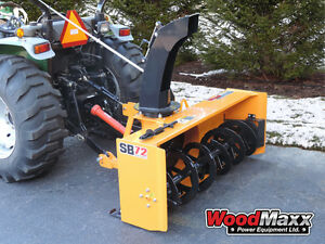 Woodmaxx Sb 72 Pto Snow Blower 72 free Shipping To The Lower 48 States