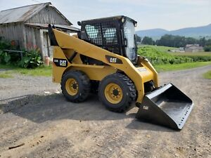 2006 Caterpillar 252b Skid Steer Loader Diesel Hydraulic Cat Machine Cab W Ac