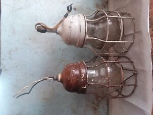 Vintage Crouse Hinds Explosion Proof Lights Made In Usa Vdb3 Globe