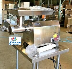New Commercial 2hp Electric Meat Grinder Stainless Heavy Duty Model Tc 32e Nsf