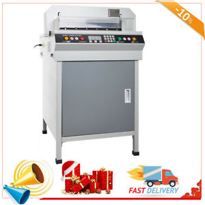 17 7 Automatic Electric Paper Cutter 450mm Cutting Machine