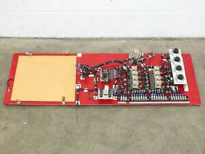 Volkmann Electrical Panel W Spectrol Reliance Potentiometers Eagle Relays