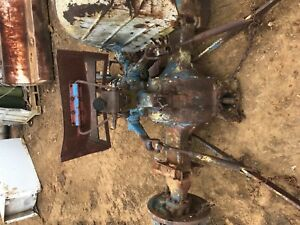Ford 3000 Tractor Transmission Axle Rearend