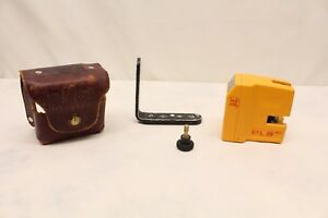 Pacific Laser Systems Pls 180 Line plumb level square Occidental Leather Case