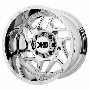 Xd Series Xd836 Fury 20x9 0 Chrome Wheel 5x127 qty 1