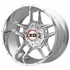 Xd Series Xd839 Clamp 20x9 18 Chrome Wheel 8x165 1 qty 1