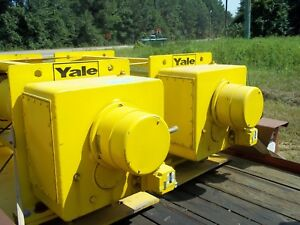 Yale 5 Ton Hoist Winch sale Is For Both Units