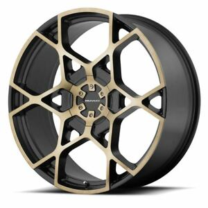 1 New 26x9 5 35 Kmc Km695 Crosshair Satin Black Mach 6x135 6x139 7 Wheel Rim