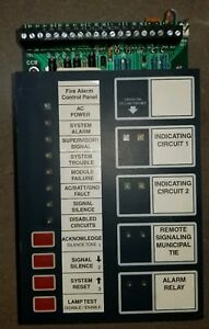 Notifier 500 Fire Alarm Panel Replacement Boards Cpu 8 Zone Relay Psb Avps