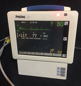 Welch Allyn Propaq Cs 242 Patient Monitor Nibp Nellcor Spo2 Ecg Tested