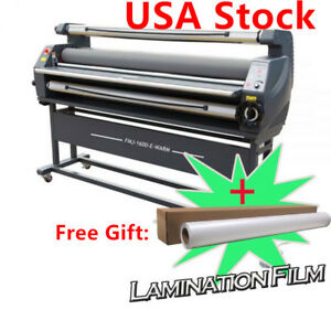 Us Stock 110v 63 Entry Level Full Auto Heat Assisted Wide Format Cold Laminator