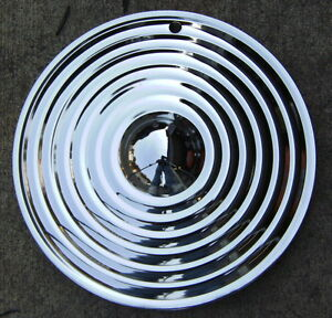 14 Chrome Starburst Hub Caps 2 cool Custom Lead Sled bomber hot Rod rat Rod