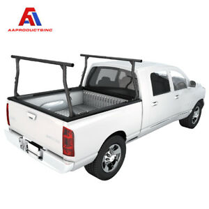 Universal Pickup Truck Ladder Rack Adjustable 800lb Steel Utility Kayak Lumber