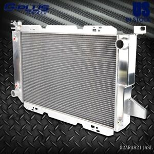 Gplus Aluminum Radiator For 85 1997 Ford Pickup Bronco V8 F150 F250