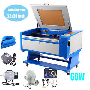 60w Co2 Laser Cutter Engraving Cutting Machine 700x500mm Usb Port Red Dot Point