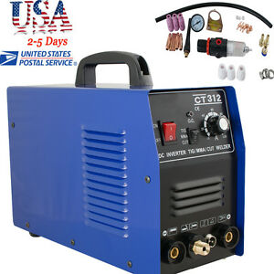 3in1 Ct312 Tig mma Air Plasma Cutter Welder Welding Torch Machine Multi function