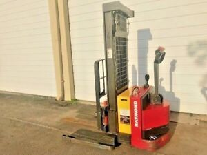 2011 Raymond Walkie Stacker 3 750 Lb Capacity Side Shift Height 87 130