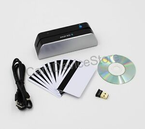 Deftun Msr X6 bt Msrx6bt Bluetooth Magnetic Strip Card Reader Writer Easymsr