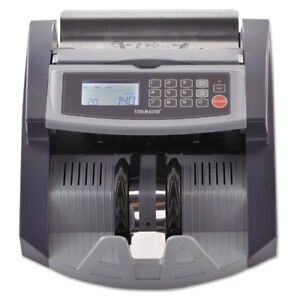 Steelmaster Professional Currency Counter With Uv mg Counterfeit Detection