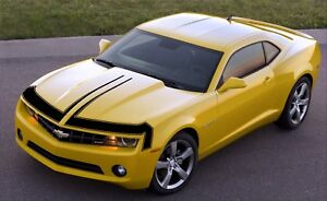 Front Fascia Nose Retro Vinyl Graphics Decal For Chevy Camaro 2010 To 2013