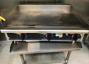 36 Counter top Griddle Gas Commercial Restaurant Flat Grill Star Max 636 Mb