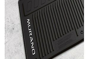 2015 2016 2017 2018 2019 Nissan Murano All Season Floor Mats