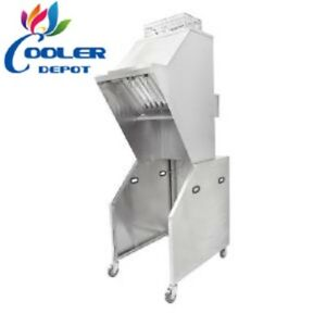 New 24 Commercial Portable Universal Ventless Hood System Kitchen Restaurant