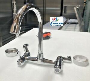 New Commercial Sink Hot Cold Faucet Kitchen Restaurant Bar Model Fc81