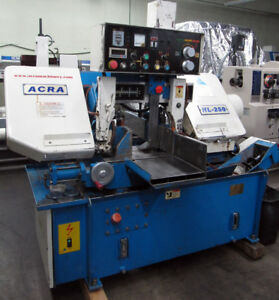 Acra Hl 250 10 Horizontal Metal Cutting Band Saw Auto clamping