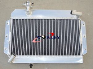 Aliminum Radiator For Mg Mga 1500 1600 1622 De Luxe 1955 1962 1956 57