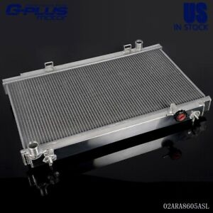 For Nissan 350z 2 Row Aluminum Manual Transmission Cooling Radiator 2003 2006 04