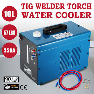 Tig Welder Torch Water Cooler 110v Quick Couplers Water Cooling Active Demand