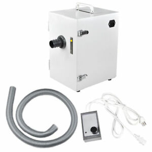 370w Dental Lab Digital Single row Dust Collector Vacuum Cleaner 9 8kpa 110v