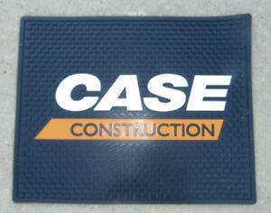 Case Construction Logo Rug Large Advertising Store Mat Sign 20 x16 New