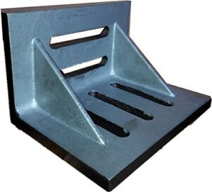 Hhip 3402 0303 6 X 5 X 4 1 2 Slotted Angle Plate Webbed
