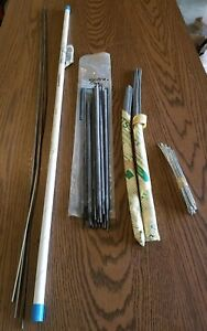 Brazing Rods Mixed Lot Of Bronze And Aluminum Rods 80 Rods