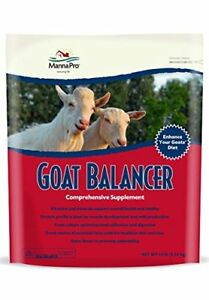 Manna Pro Goat Balancer Dairy Feed Supplement Health Aid Milk Production Growth