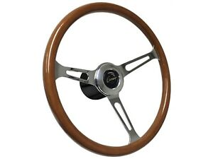 1967 1968 Chevy Camaro S6 Classic Wood Steering Wheel Covert Kit