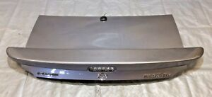 2004 2005 Mazdaspeed Miata Trunk Lid W Spoiler Titanium Grey Metallic Nb037